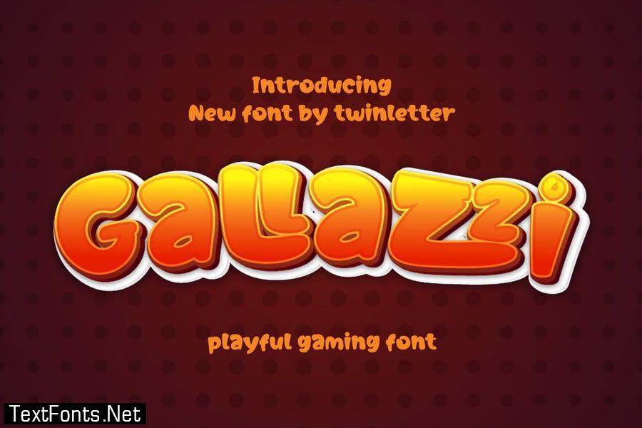 Gallazzi Font
