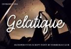 Gelatique Font