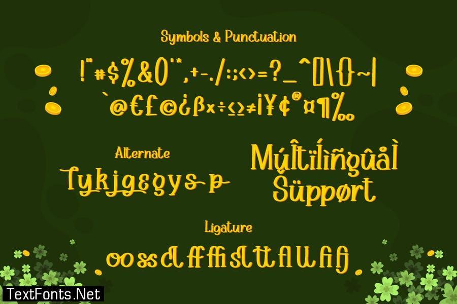 Golday – Playful Serif Font