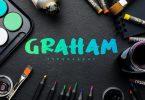 Graham Typography Font