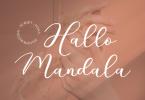 Hallo Mandala Font
