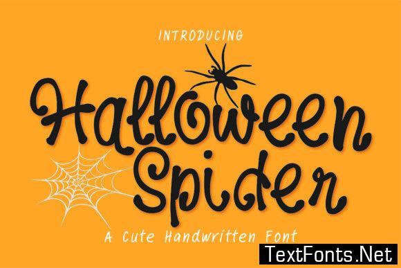 Halloween Spider Font