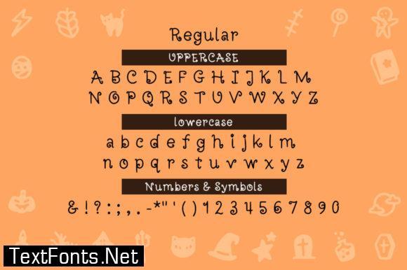 Halloweenie Font