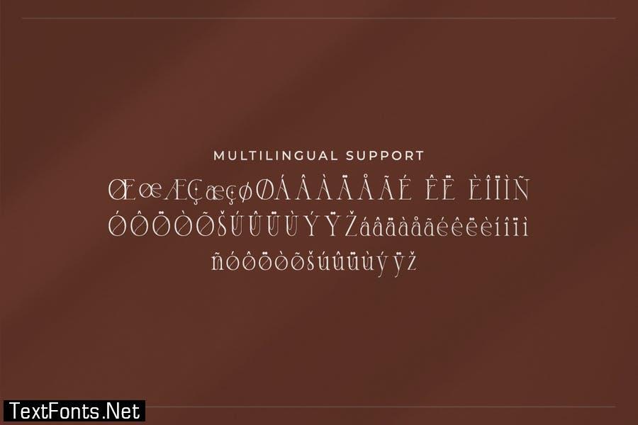 Hara – Modern Serif Font