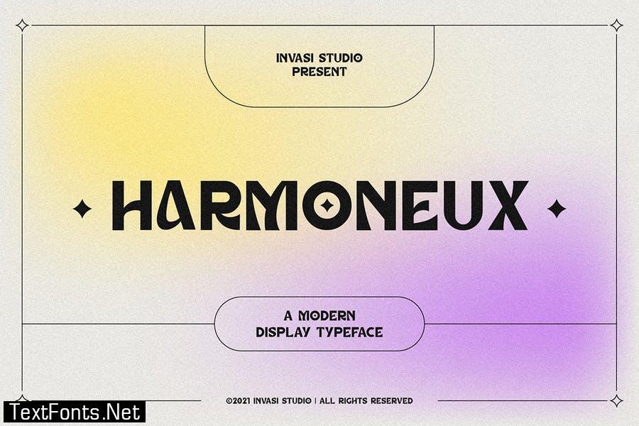 Harmoneux | Modern Display