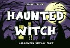 HauntedWitch - Halloween Display Font