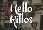 Hello Rillos Font