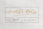 Heydista Notes Font