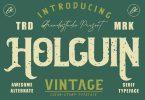 Holguin - Vintage Typeface