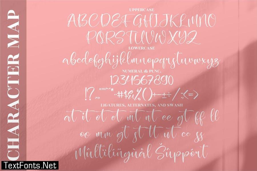 Holistica Beautiful Script LS