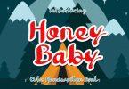 Honey Baby Font