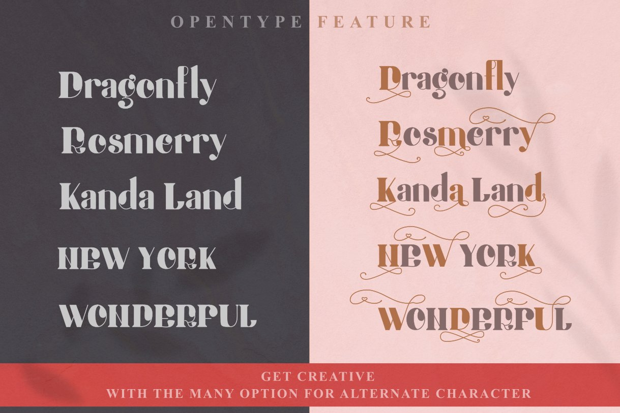 Honey Butterfly - Beauty Typeface 6259713