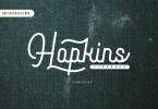 Hopkins Font