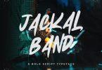 Jackal Band – Bold Script Typeface