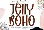Jelly Boho Font