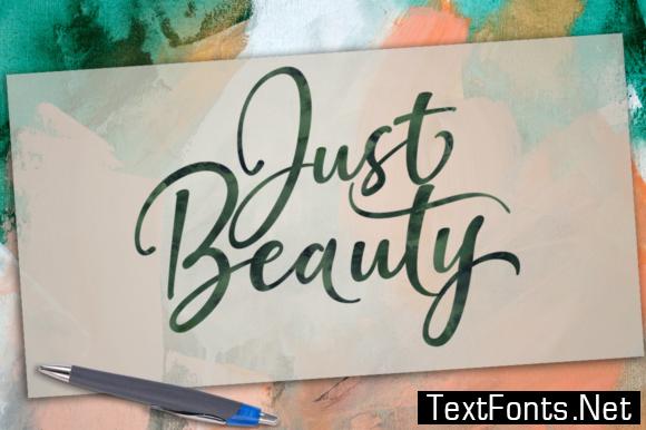 Just Beauty Font