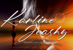 Karline Jeashy Font