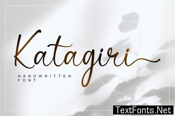 Katagiri Font