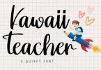 Kawaii Teacher Font