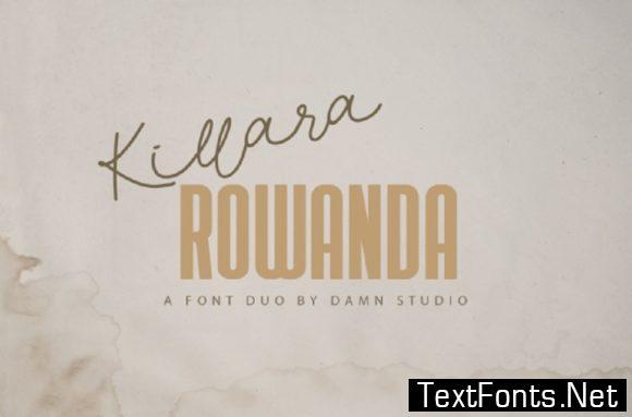 Killara Rowanda Font