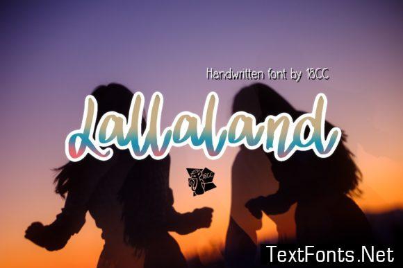 Lallaland Font