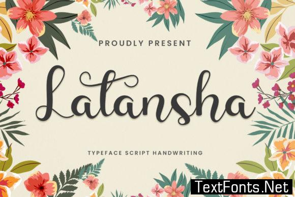 Latansha Font