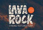 Lavarock - Textured Sans