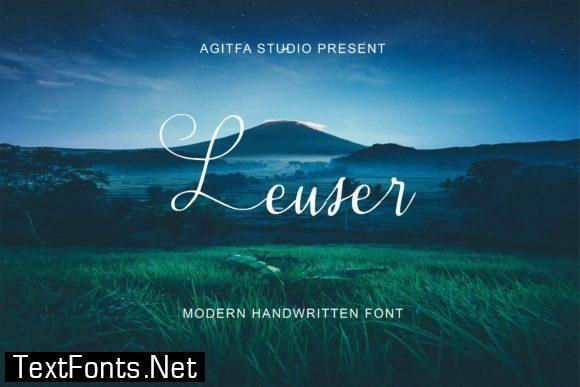 Leuser Font