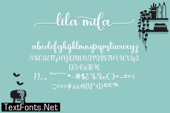 Lilamila Font