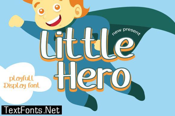 Little Hero Font