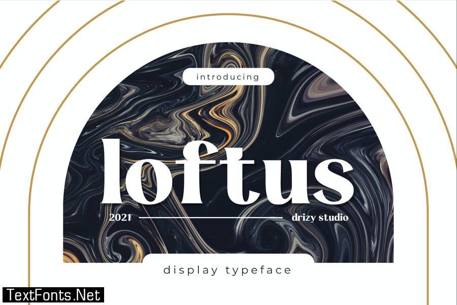 Loftus Font