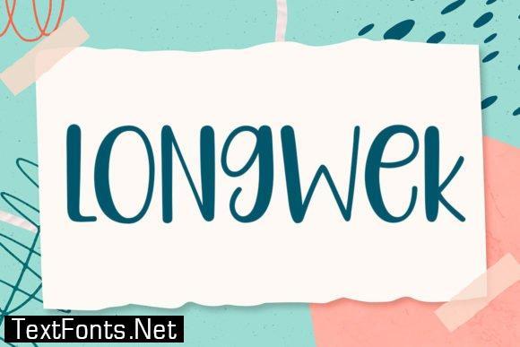 Longwek Font