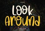 Look Around Font
