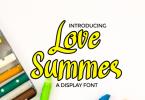 Love Summer Font