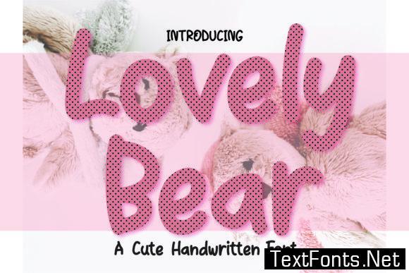 Lovely Bear Font