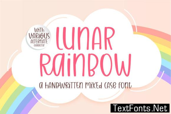 Lunar Raninbow Font