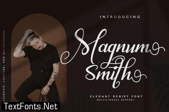 Magnum Smith Font