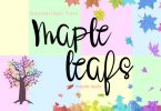 Maple Leafs Font