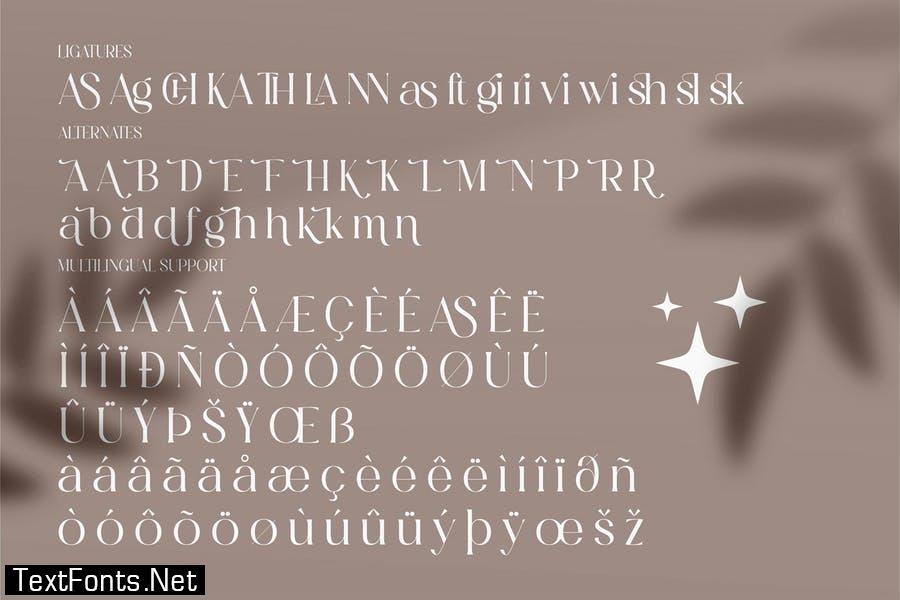 Masvis Minimalist Serif Font LS