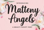 Matteny Angels Font