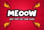 Meeow - Playful Comic Font