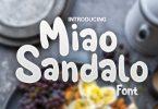 Miao Sandalo Font
