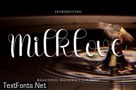Milklove Font