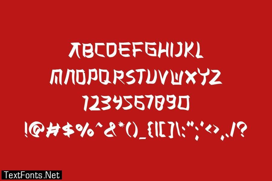Misaki Japanese Font