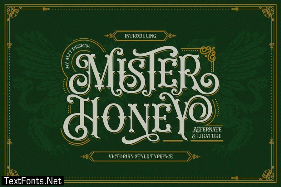 Mister Honey Typeface