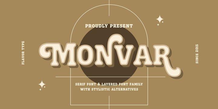 Monvar Font Family