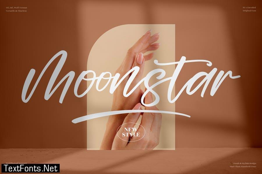 Moonstar Handwritten Font LS