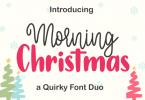 Morning Christmas Font