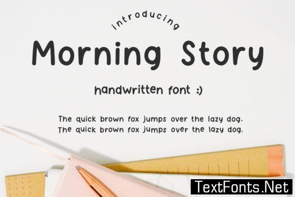 Morning Story Font