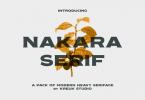 Nakara Font Family